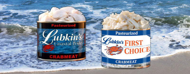 Lubkins First Choice Lubkins Pasteurized Crabmeat