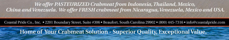 Pasteurized and Fresh Crabmeat